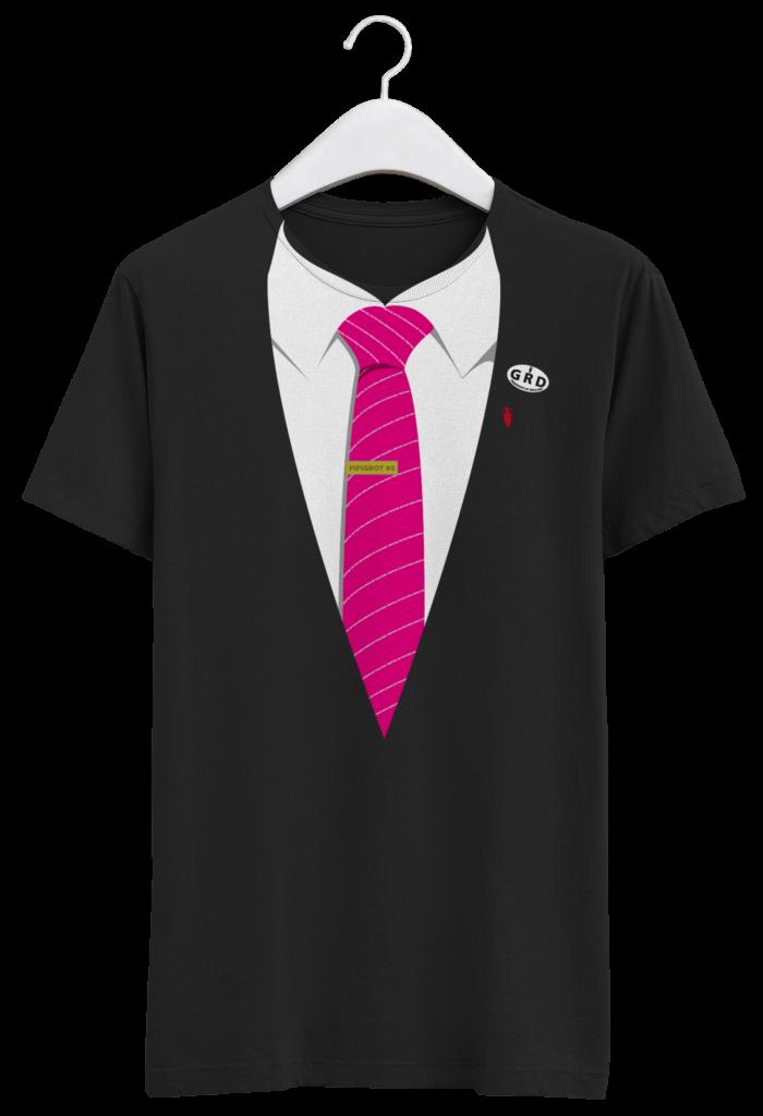 tshirt cravate