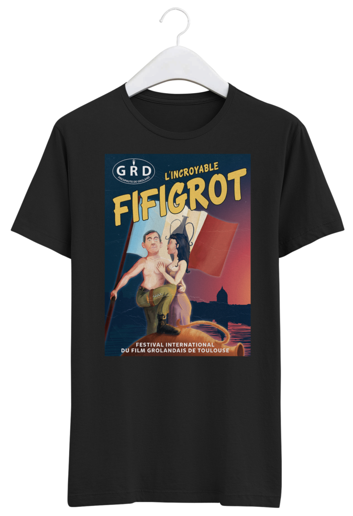 tshirt incroyable fifigrot